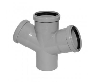 Vidaus kanalizacijos keturšakis 110 x 110 / 45°
