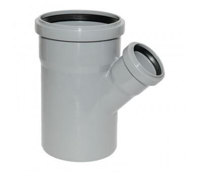 Vidaus kanalizacijos trišakis 110 x 50 x 110 / 45°, HTplus Magnaplast