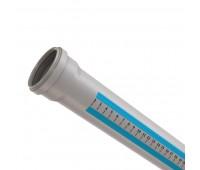 Vidaus kanalizacijos vamzdis 50 / 2000 mm, HTplus Magnaplast
