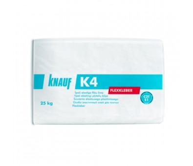 Ypač elastingi plytelių klijai Knauf K4 25 kg